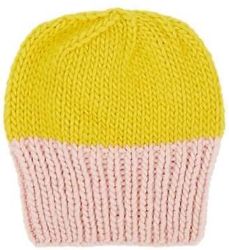 Albertus Swanepoel Women s Two-Tone Wool Beanie - Yellow 188c41cf4379