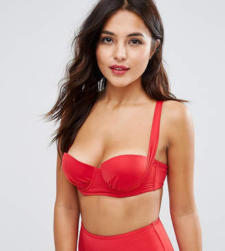 Wolfwhistle Wolf & Whistle Slinky Strappy Back Bikini Top B-G Cup