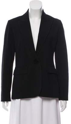 Joseph Notch-Lapel Long Sleeve Blazer