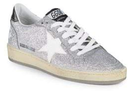 Golden Goose Ball Star Glitter Low-Top Sneakers