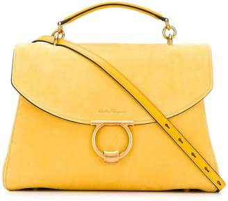 Salvatore Ferragamo Gancini top handle bag