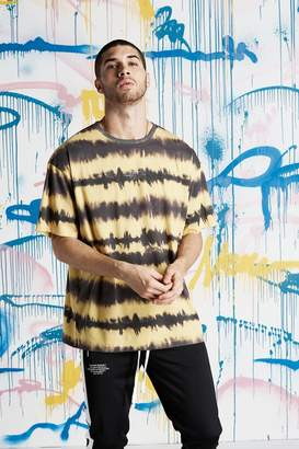 boohoo Quavo MAN Tie Dye Loose Fit T-Shirt