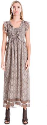 Max Studio atom floral printed maxi dress