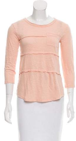 Marc by Marc Jacobs Linen Jersey Top