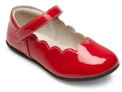 See Kai Run Toddler's& Kid's Scalloped Trim Patent Leather Mary Janes