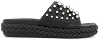 Baldinini studded open-toe sandals