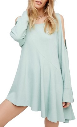 Women's Free People Clear Skies Cold Shoulder Tunic $98 thestylecure.com