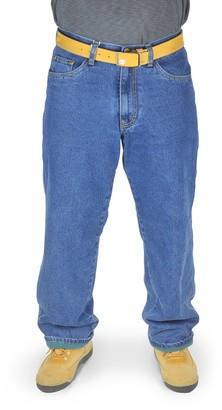 Stanley Men's 5-Pocket Fleece-Lined Jeans
