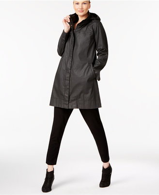 Eileen Fisher Stretch Cotton A-Line Jacket $398 thestylecure.com