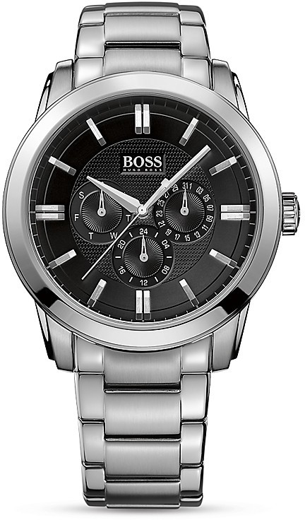 HUGO BOSS BOSS Attraction Stainless Steel Case and Bracelet, 44mm