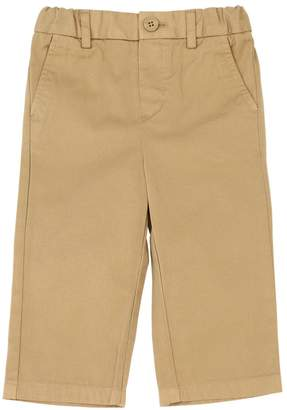 Burberry Cotton Chino Gabardine Pants