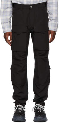 Junya Watanabe Black Technical Cargo Pants