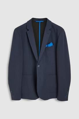 Next Mens Jersey Slim Fit Blazer