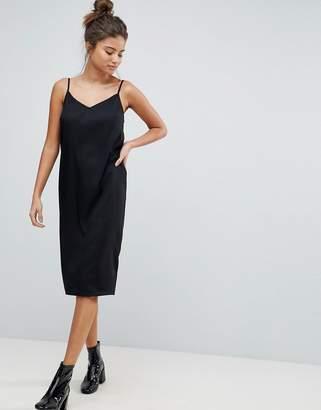 Asos DESIGN FULLER BUST Cami Midi Slip Dress