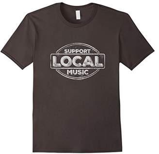 Support Local Music Logo T-shirt
