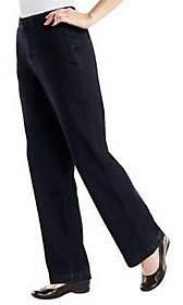 """Denim & Co. How Fitting!""""Tummy Slimming RegularTrouser Jeans"""