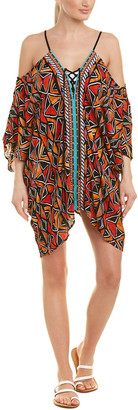 Nanette Lepore Off-The-Shoulder Caftan