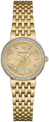 Bulova Women's Diamond Gallery Bracelet Watch, 26mm - 0.23 ctw