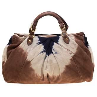 Miu Miu Multicolour Suede Handbags