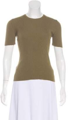 Celine Phoebe Philo Cashmere Short Sleeve Top