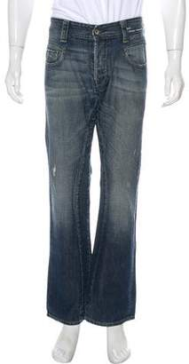 G Star Distressed Relaxed Jeans