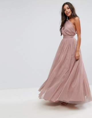 afaacdf37406 Discounted One Shoulder Maxi Dress - ShopStyle UK