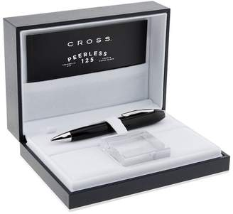 Cross Peerless 125 Obsidian Black Lacquer Ballpoint Pen