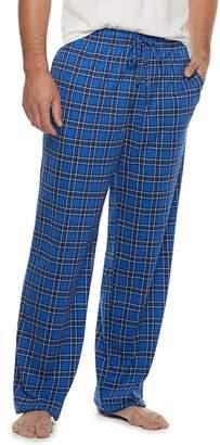 Croft & Barrow Big & Tall Printed Knit Lounge Pants