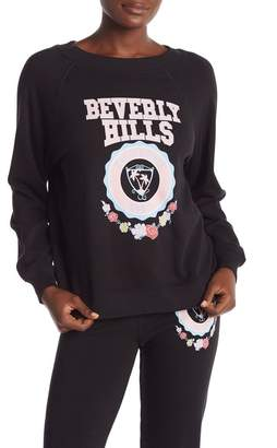 Wildfox Couture Beverly Hills Crest Sommers Graphic Sweatshirt