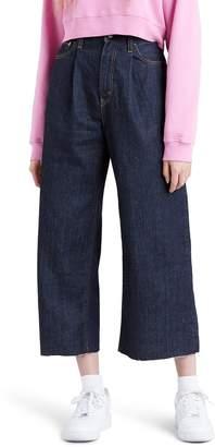 Levi's Ribcage Super High Waist Crop Wide Leg Jeans