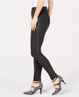 Alfani Tuxedo-Stripe Legging Pants