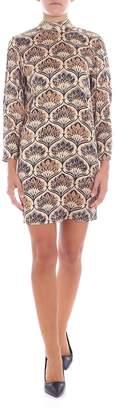 L'Autre Chose Stretch Silk Dress