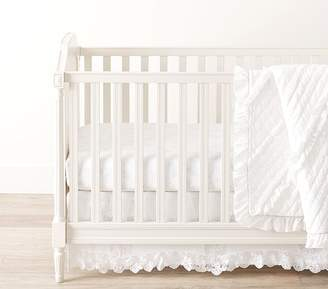 Pottery Barn Kids Nursery Quilt Bedding Set: Quilt, Crib Fitted Sheet & Crib Skirt