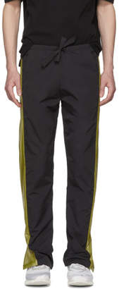 Cottweiler Black Contrast Panel Lounge Pants