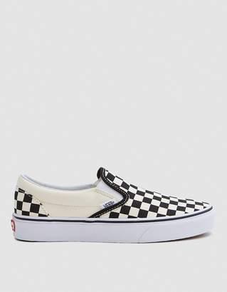 Vans Classic Slip-on in Black/White Check