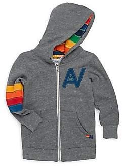 Aviator Nation Toddler's, Little Boy's & Boy's Rainbow Striped Heathered Hoodie