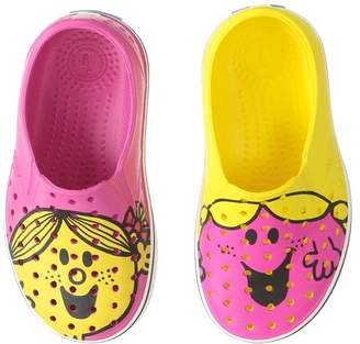 Native Little Miss Chatterbox Sunshine Miles Print Girls Shoes