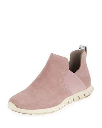 Cole Haan Zerogrand Suede Slip-On Sneakers, Twilight Mauve
