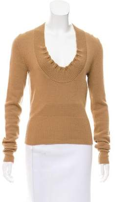 Alexander McQueen Long Sleeve Sweater