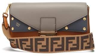 Fendi Baguette Tri Colour Leather Bag - Womens - Tan Multi