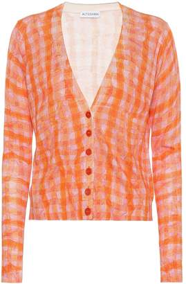 Altuzarra Natalia silk and cotton cardigan