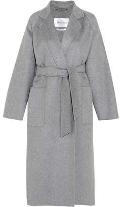 Max Mara - Marlo Belted Cashmere Coat - Gray $5,890 thestylecure.com