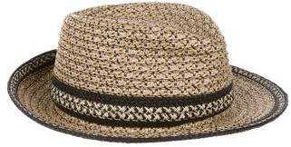 Eric Javits Metallic Straw Hat