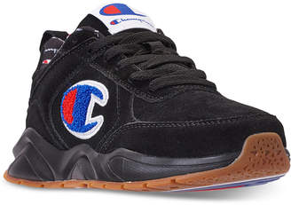 Champion Boys' 93Eighteen Suede Chenille Athletic Training Sneakers from Finish Line