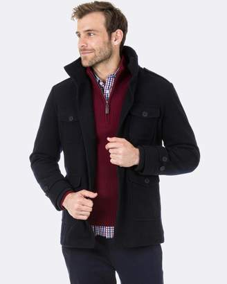 Blazer Walker Melton Jacket