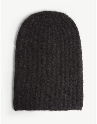 Isabel Benenato Knitted wool hat