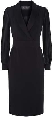 Max Mara Tuxedo Style Dress