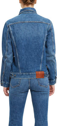 Pswl Drawstring Denim Jacket