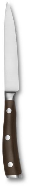 """Wusthof Ikon Blackwood 4 1/2"""" Utility Knife with Care Kit"""