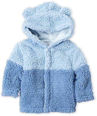 Magnificent Baby Smart Close By Newborn/Infant Boys) Two-Tone Sherpa Hoodie